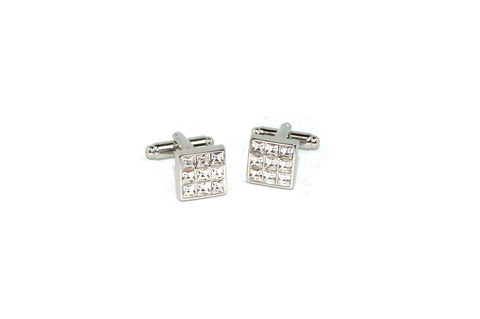 Crystal Window Cufflinks