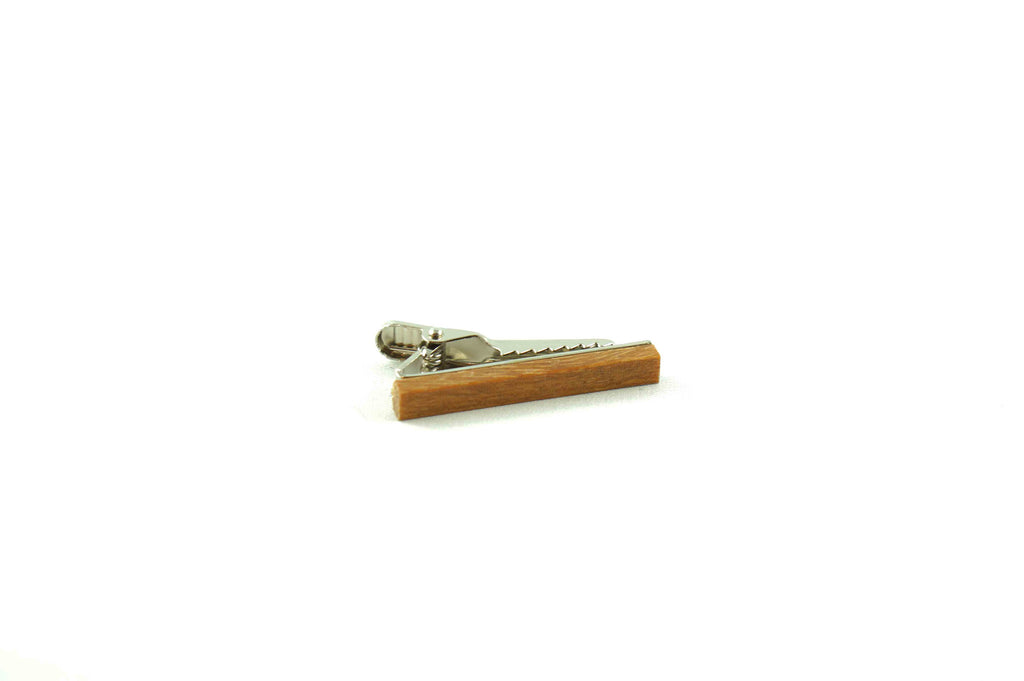 Cumaru Wood Skinny Tie Bar