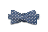 Daffodil Blue Silk Bow Tie (Self-Tie)