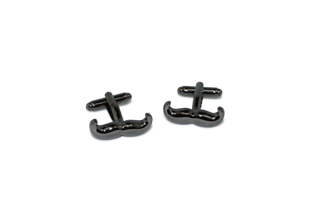 Dark Moustache Cufflinks