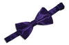 Dark Purple Bow Tie (Boys)