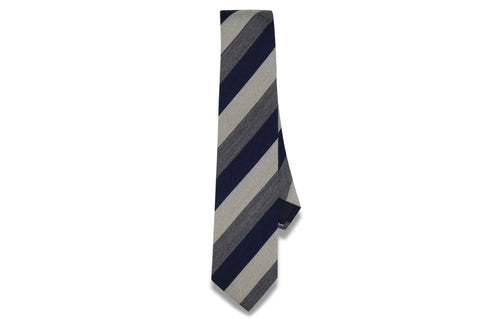 Dark Skies Wool Skinny Tie