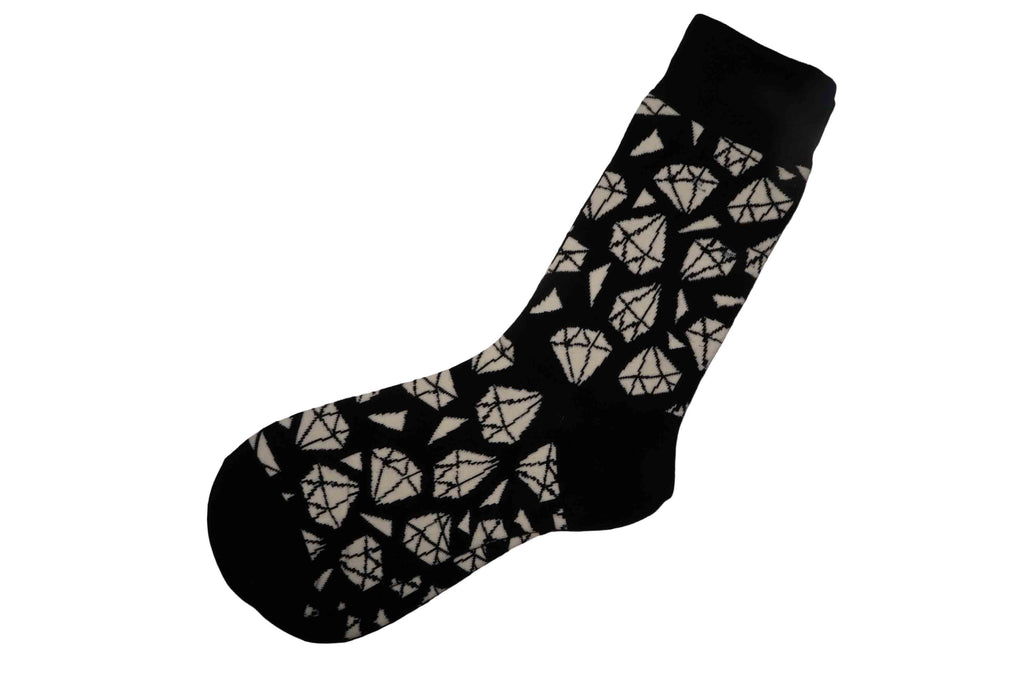 Diamond Black Socks