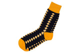 Diamond Yellow Socks