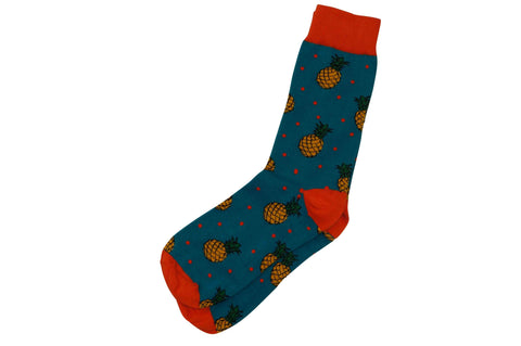 Dotted Pineapple Men's Socks