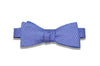 Double Sided Purple Silk Bow Tie (self-tie)