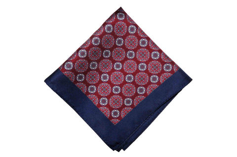 Dream Land Silk Pocket Square