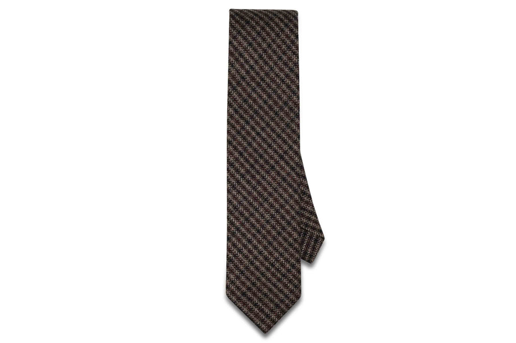 Fall Evening Wool Skinny Tie