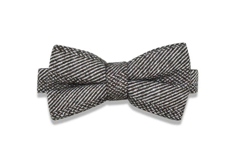 FISH SCALE WOOL BOW TIE (pre-tied)
