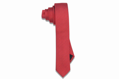 Flame Thrower Silk Skinny Tie