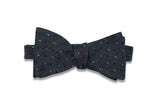 Flying Green Wool Bow Tie (self-tie)