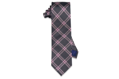 Frame Stripes Silk Tie