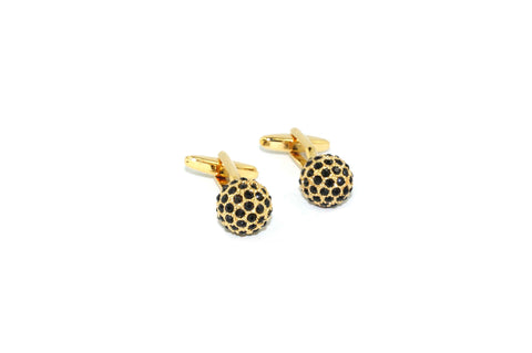 Golden Ball Cufflinks