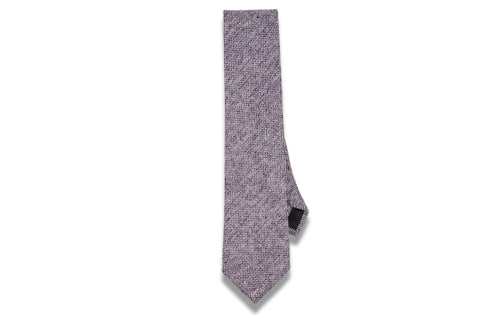 Gray Grapes Wool Skinny Tie