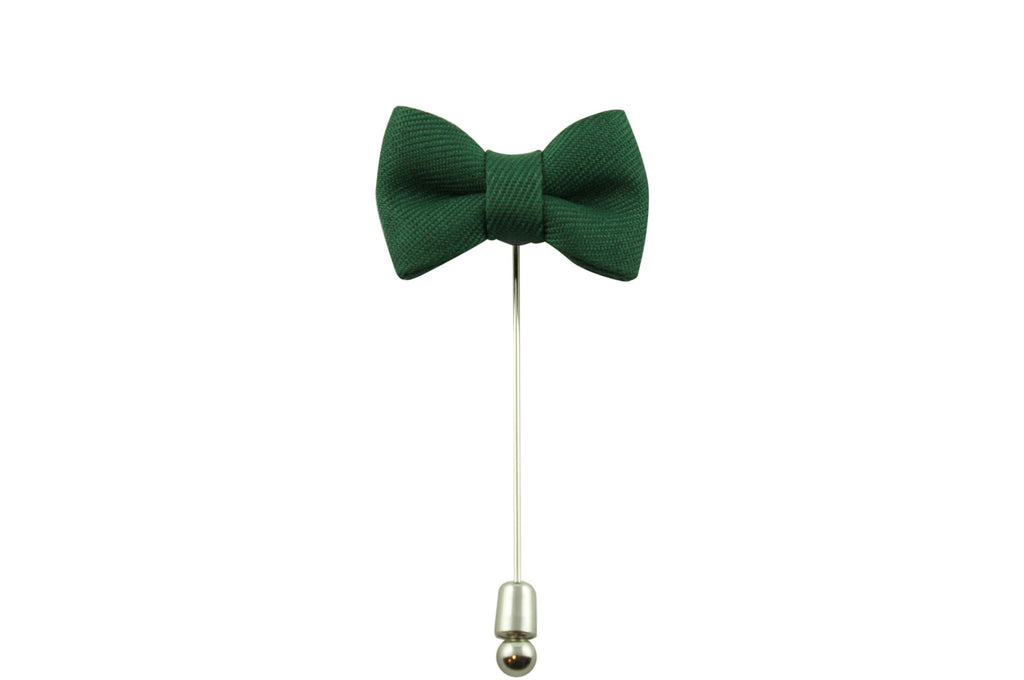 Green Bow Tie Lapel Pin