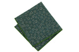 Greenfield Flowers Cotton Pocket Square