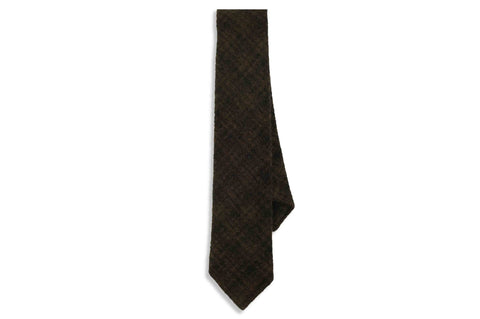 Grizzly Wool Skinny Tie