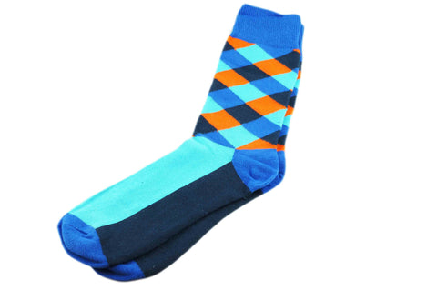 Happy Blues Men's Socks