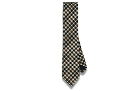 Harrison Brown Cotton Skinny Tie
