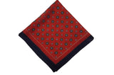 Hemington Reds Wool Pocket Square