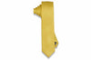 Honey Yellow Silk Skinny Tie