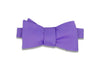 Iris Purple Bow Tie (Self-Tie)