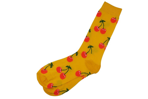 Island Yellow Men's Socks