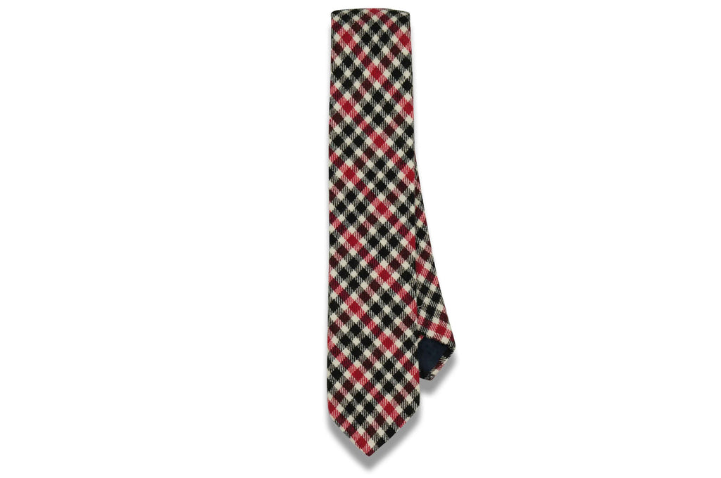 Jack Red Cotton Skinny Tie