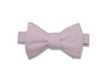 Light Pink Cotton Bow Tie (self-tie)