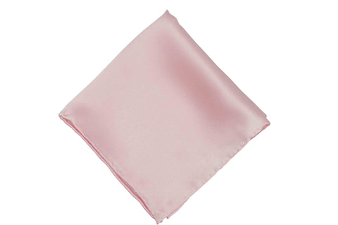 Light Pink Silk Pocket Square