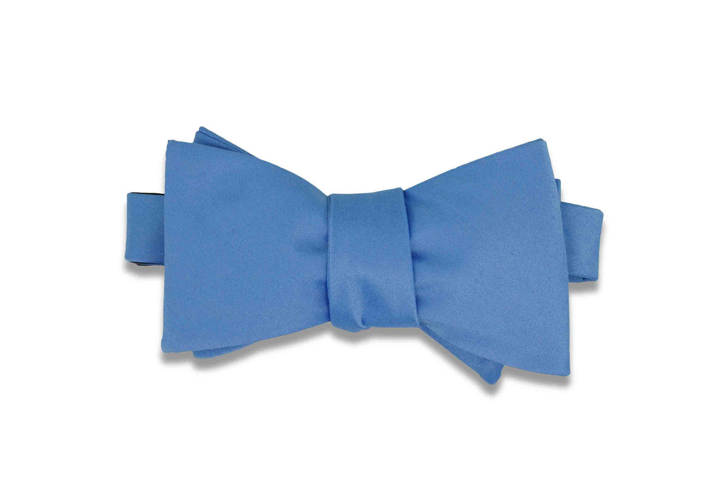 Macau Blue Bow Tie (Self-Tie)