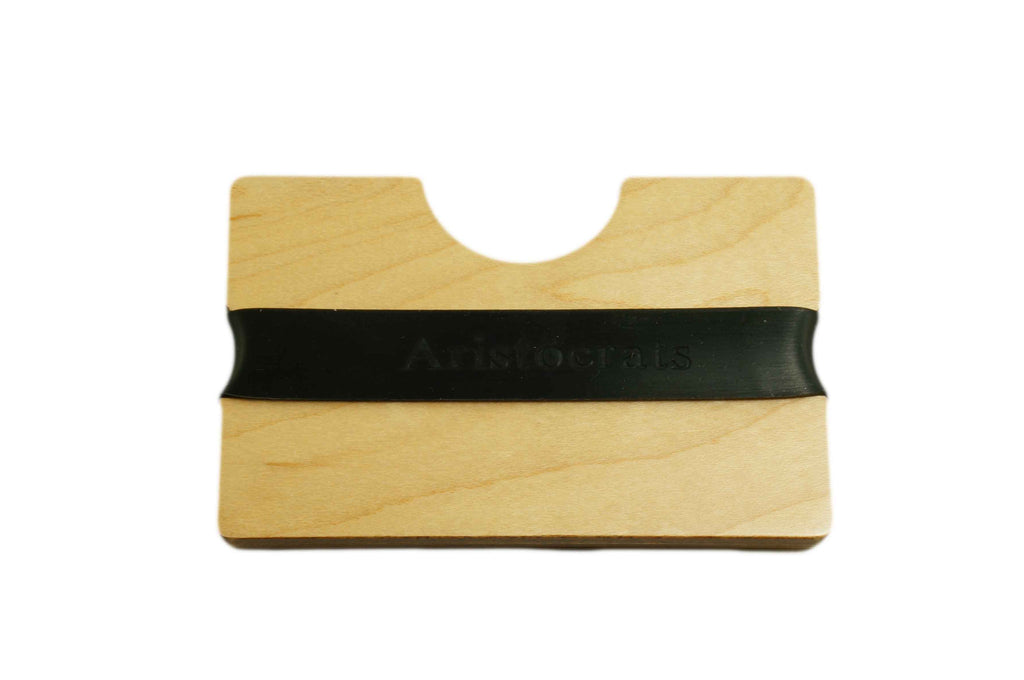 Maple Wood Card Holder