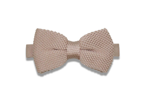 Maple Knitted Bow Tie (pre-tied)