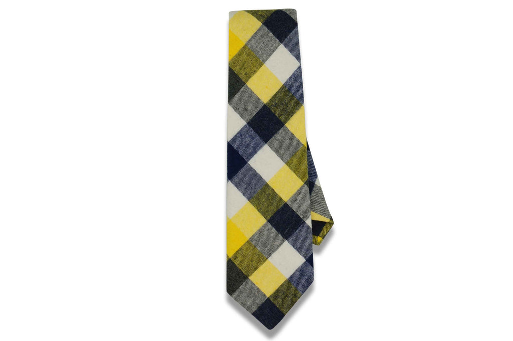Markus Yellow Cotton Tie