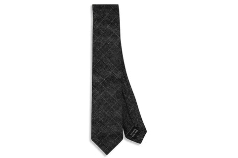 Midnight Fade Wool Skinny Tie