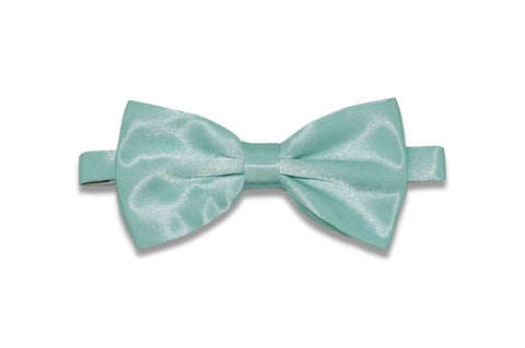 Mint Green Bow Tie (Pre-Tied)