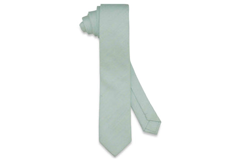 Mint Out Cotton Skinny Tie