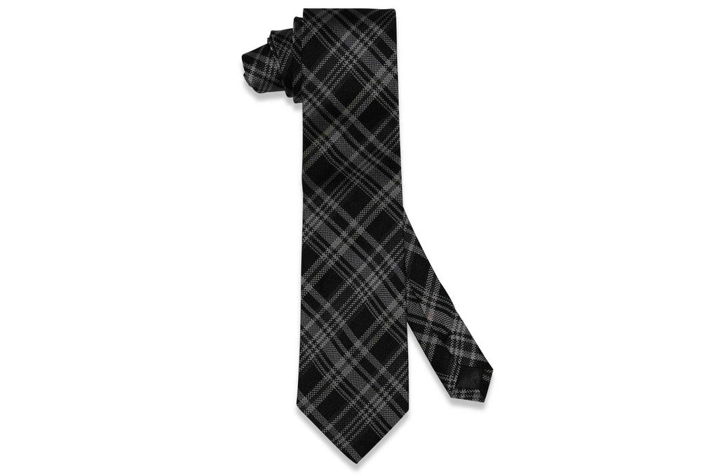 Misty Night Silk Tie