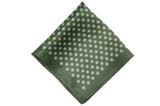 Montreal Greens Silk Pocket Square