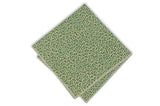Multi Green Dotted Cotton Pocket Square