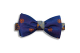 Nautical Reversible Silk Bow Tie (self-tie)