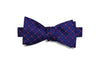 Navyfield Flowers Silk Bow Tie (self-tie)