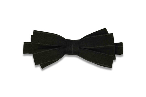 Night Lanes Cotton Bow Tie (Pre-Tied)
