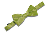 Olive Green Bow Tie (Boys)
