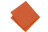 Orange Field Cotton Pocket Square