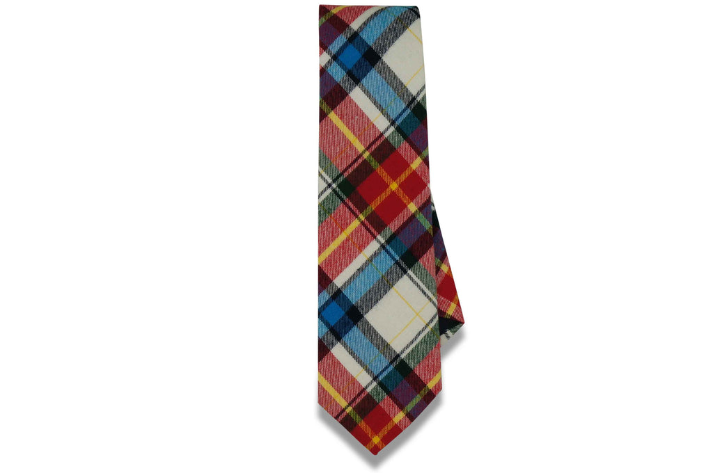 Oscar Plaid Cotton Tie