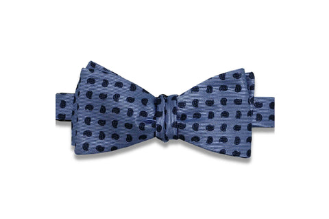 Paisley Drop Silk Bow Tie (Self-Tie)