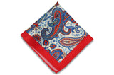 Paisley Made Silk Pocket Square