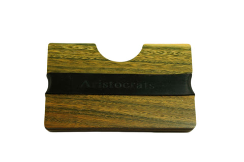 Palosantoes Wood Card Holder