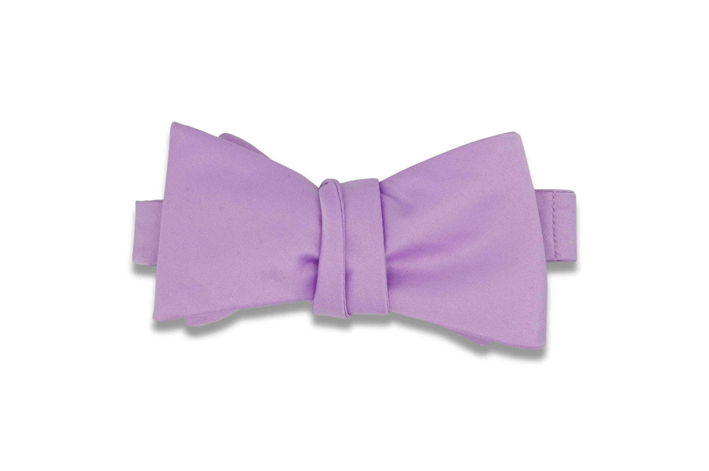 Periwinkle Purple Bow Tie (Self-Tie)
